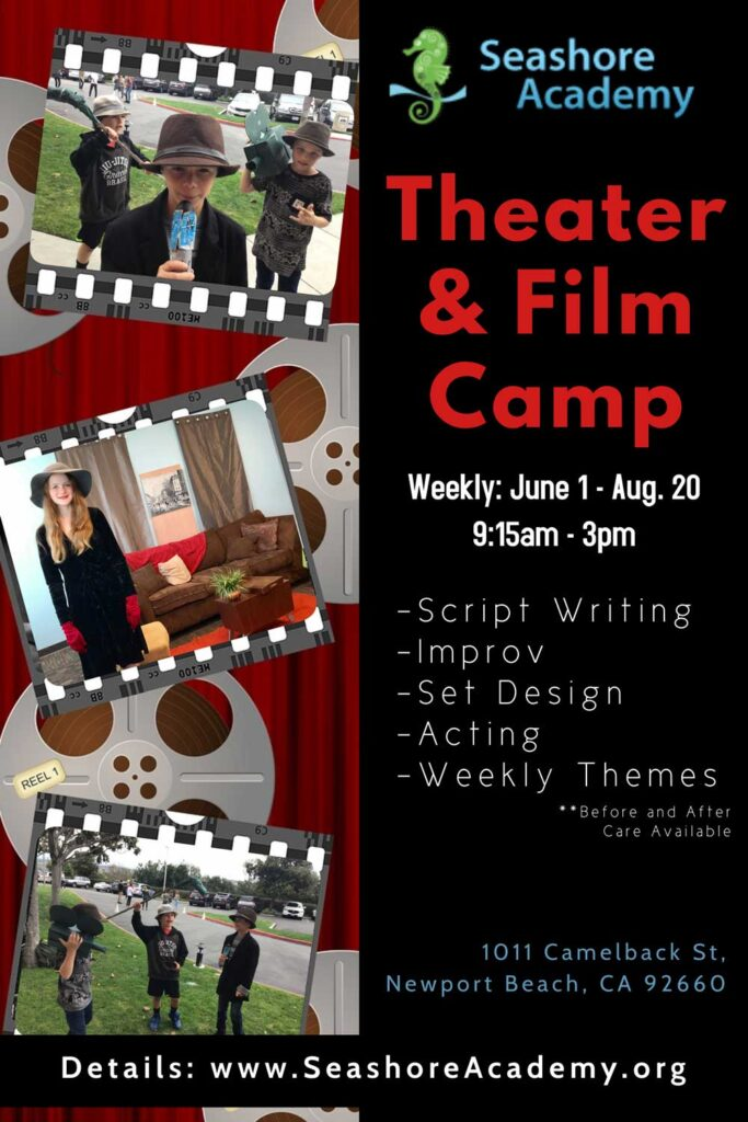 Theater Film Camp Flyer